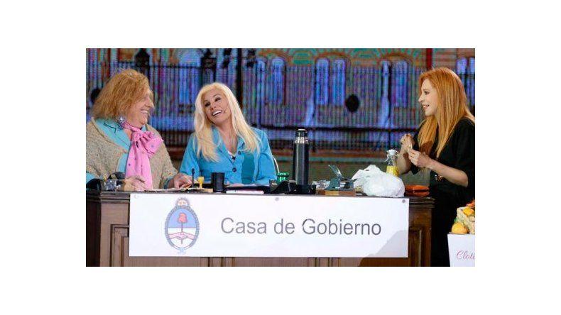 Nacha Guevara y Susana Giménez se mandaron al frente con sus romances