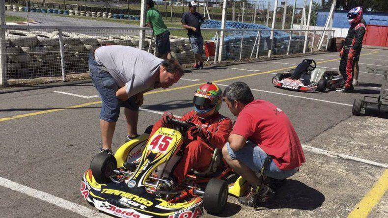 Renzo Blotta corrió la 9ª fecha en el  kartódromo Ciudad de Buenos Aires