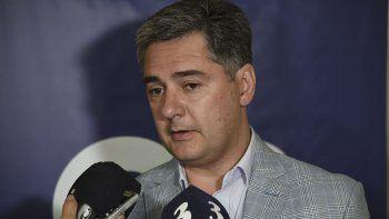 Máximo Naumann, secretario municipal de Gobierno.