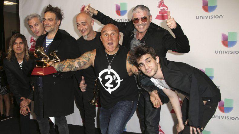 En la entrega de los Grammy Latinos