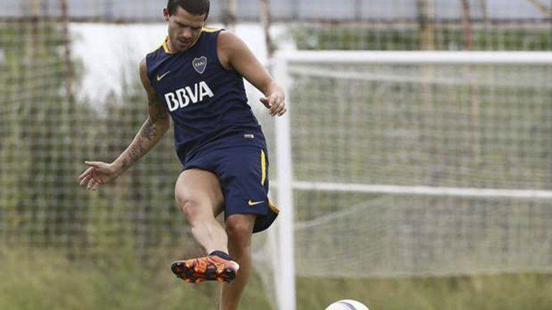 El mediocampista Fernando Gago ocupará mañana un lugar entre los sustitutos de Boca.