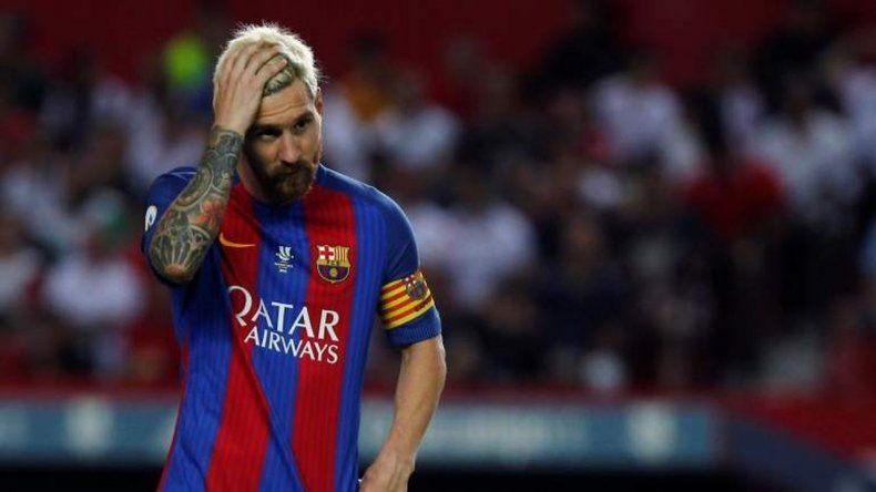 Messi se quedó afuera del partido de Barcelona ante Málaga