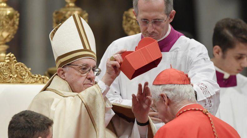 El papa Francisco nombró a 17 nuevos cardenales.