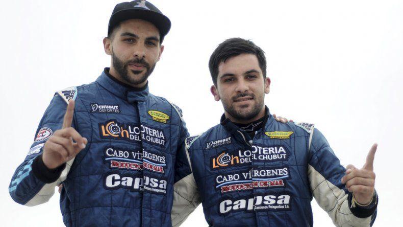 Los hermanos Valle dominaron en las baterías del TR Series.