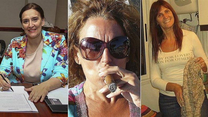 Gabriela y Silvina Michetti y Claudia Del Valle Nunia