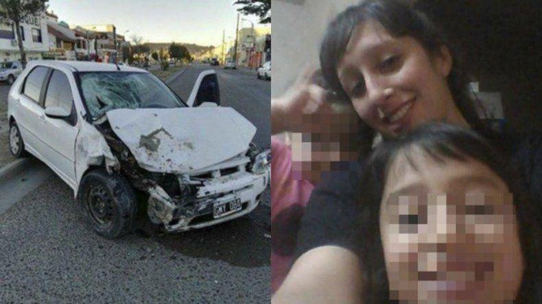 A tres semanas de haber sido atropellada por un conductor ebrio