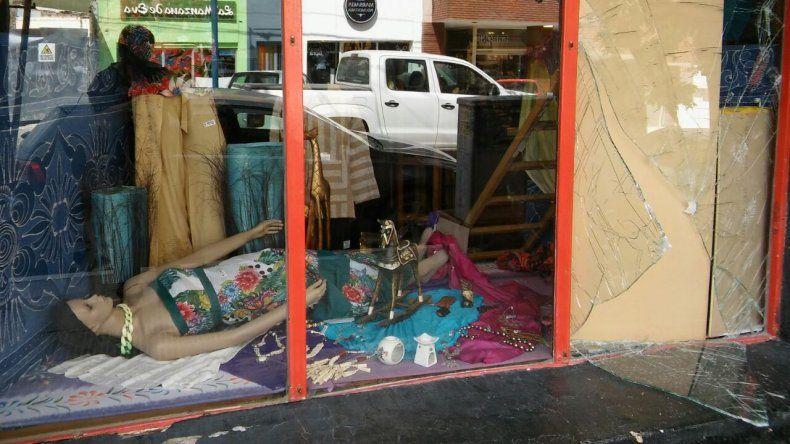 Se robaron 2.500 pesos de una tienda céntrica