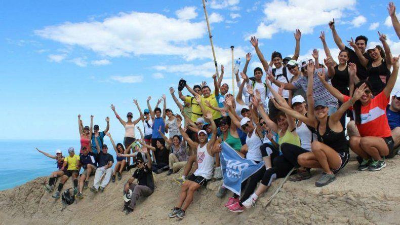 Trekking del Salamanca a beneficio de los trabajadores de Guilford