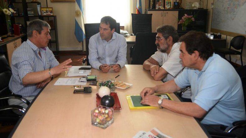 Municipio y el Colegio Médico analizan propuestas sobre emergentología