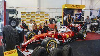 Más de 110 stands de empresas de diferentes rubros están presentes en el Predio Ferial de Comodoro Rivadavia.