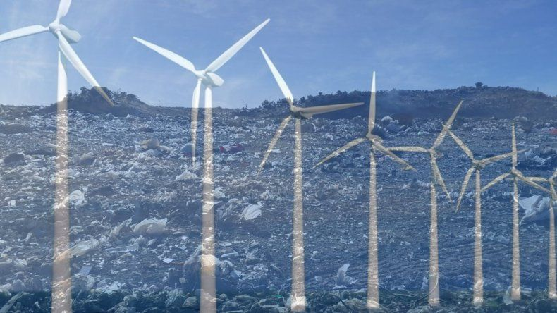 El actual basural podría ser un parque eólico