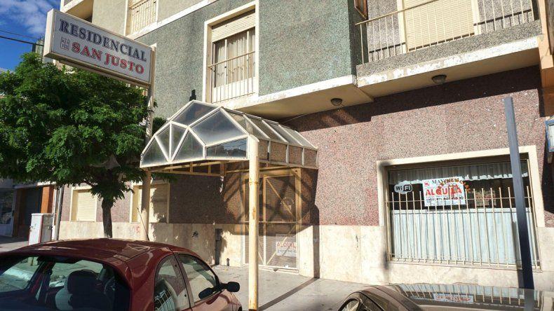 El hotel residencial San Justo está situado en España al 900