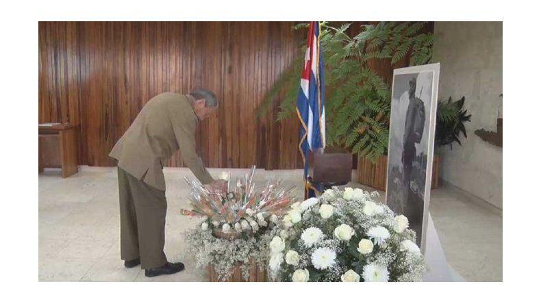 Exhiben las primeras imágenes de la urna con los restos de Fidel Castro