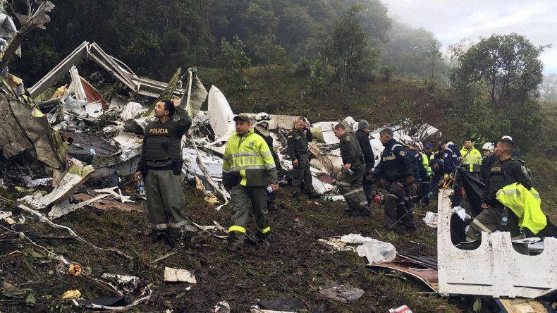 Las primeras hipótesis sobre la caída del avión
