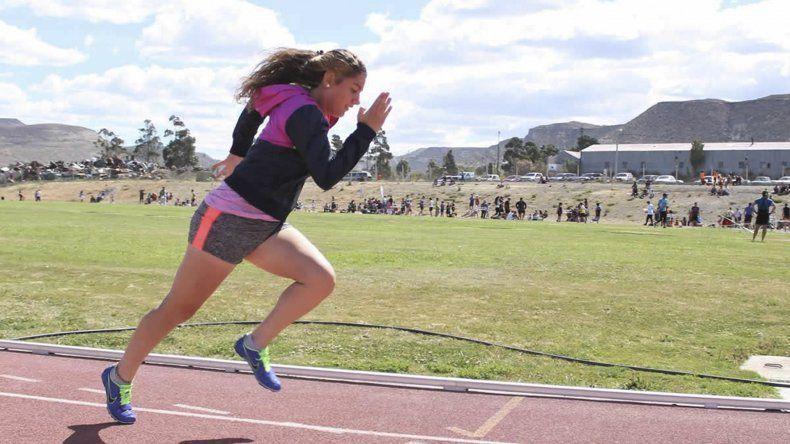 Florencia Villalonga obtuvo destacadas marcas en 100