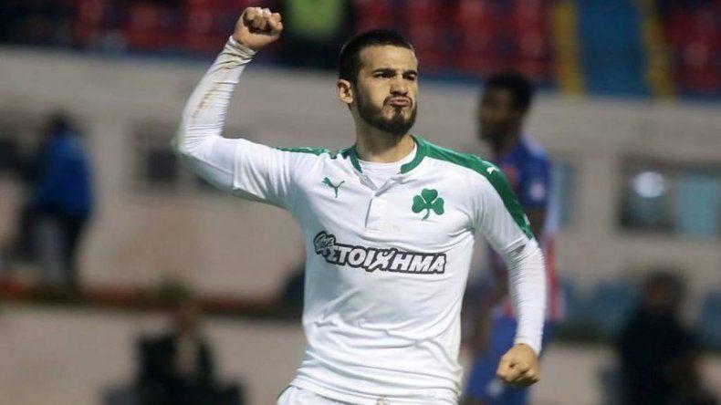 Mirá el golazo que marcó Lucas Villafañez en el fútbol griego