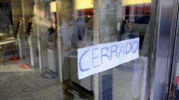 Otros dos días sin atención bancaria  por el paro de trabajadores
