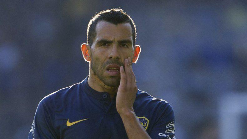 Carlos Tevez podría jugar el domingo su último partido con la camiseta de Boca.