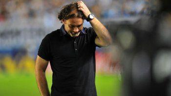 Milito renunció como entrenador de Independiente