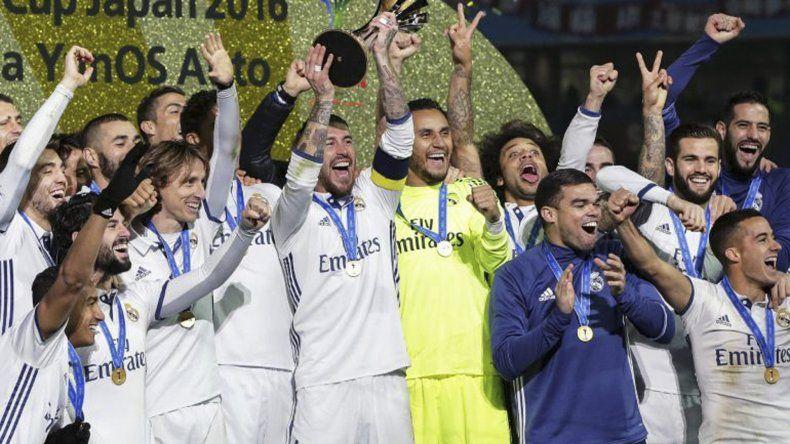 El Real Madrid festeja una nueva consagración.