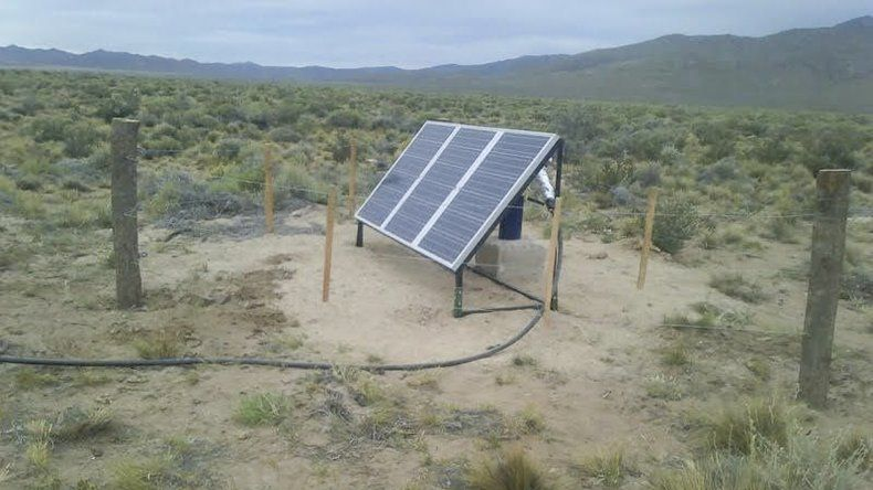 Las bombas solares llevarán agua a la meseta.