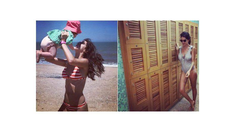 Zaira Nara, ¡lomazo! en bikini a ocho meses de ser mamá