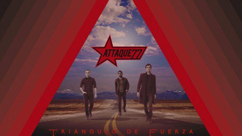 Attaque 77 se consolida como trío con Triángulo de fuerza