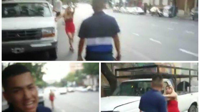 Golpearon a una mujer trans y subieron el video a Twitter