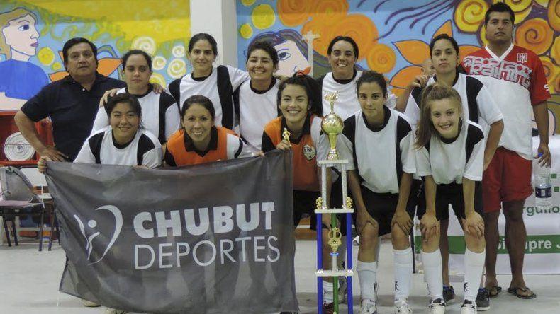 Uno de los equipos que tomará parte en febrero del torneo Provincial femenino de fútbol de salón.