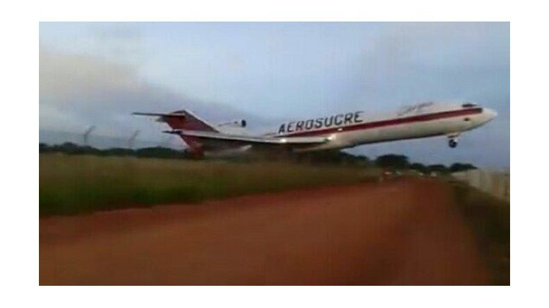 Otra tragedia en Colombia: cayó un avión de Aerosucre y murieron cinco personas