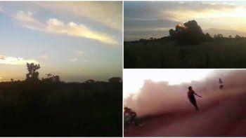 Impactantes videos: así se estrelló el avión de Aerosucre