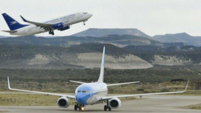 Un aterrizaje con ráfagas de 110 km/h
