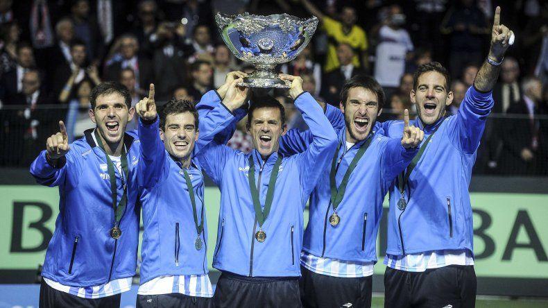 Argentina y su primera conquista de la Copa Davis.