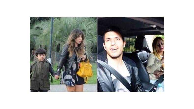 Cruce entre Gianinna Maradona y Karina La Princesita por sus hijos