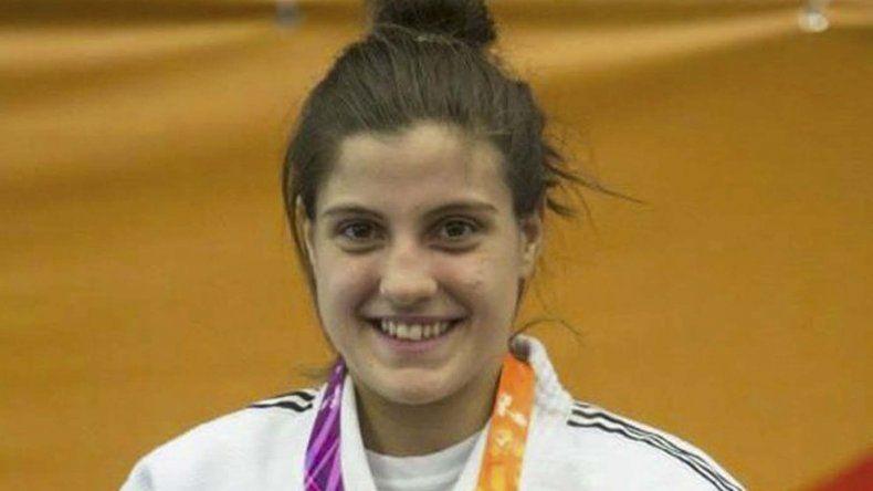 Gimena Lafeuillade -foto- y Oritia González son las comodorenses que forman parte de los reconocimientos de judo.
