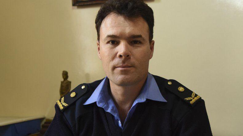 El comisario Oscar Rolla quedó a cargo de la Unidad Regional