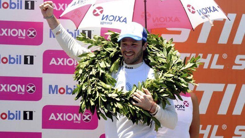 Agustín Canapino viene de coronarse campeón argentino y sudamericano en el Súper TC2000.