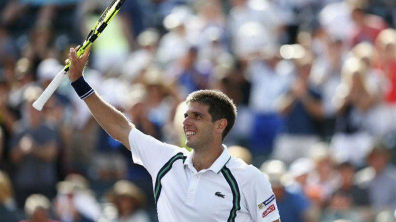 Federico Delbonis confirmó su participación en el ATP de Buenos Aires.
