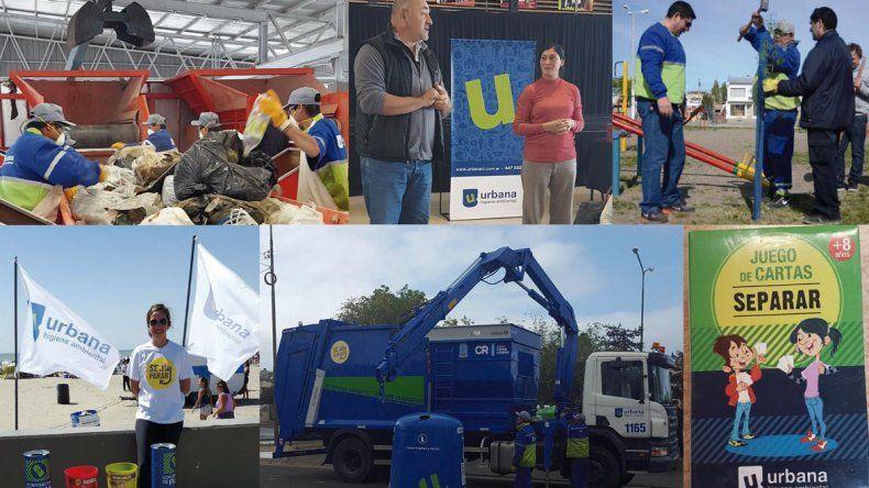 Las actividades de Urbana Higiene Ambiental buscan generar conciencia en la comunidad en pos de una ciudad más limpia.