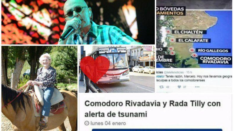 Las noticias de Comodoro que se hicieron virales