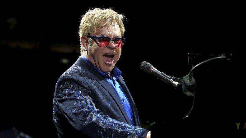El 8 de abril Elton John se presentará en el Hipódromo de Palermo.