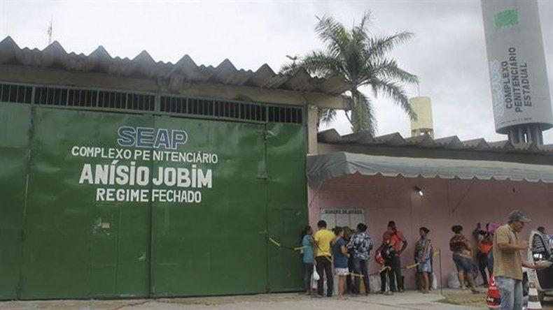 El penal donde se produjo el sangriento motín está situado en la Amazonia.