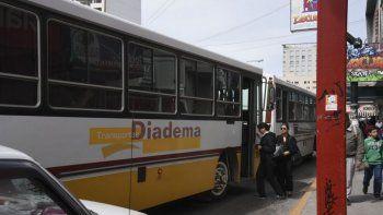 Transporte Diadema retoma el ramal del barrio René Favaloro