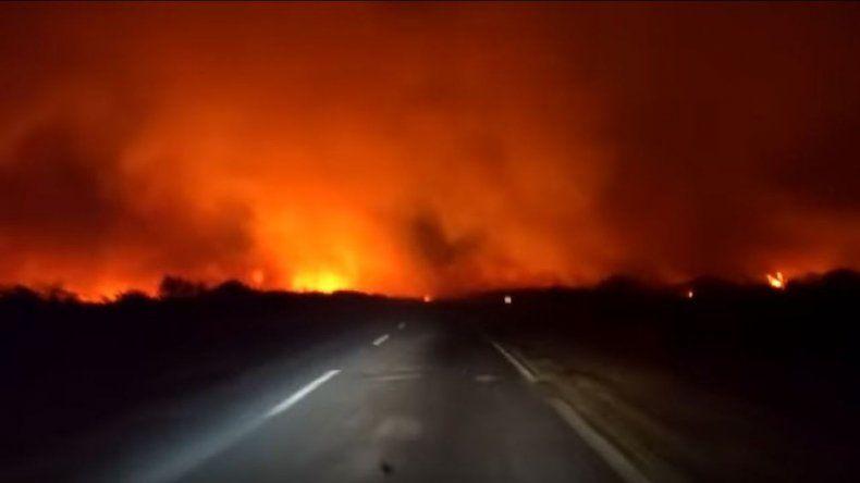 Alerta en La Pampa: se activaron unos diez nuevos focos de incendio