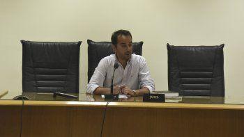 Mariano Nicosia subrogó ayer a la juez Daniela Arcuri en la causa por asociación ilícita.