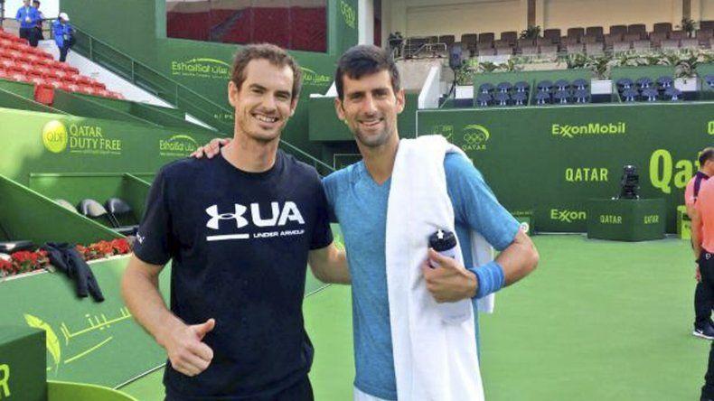 Andy Murray y Novak Djokovic definen hoy el ATP de Doha.