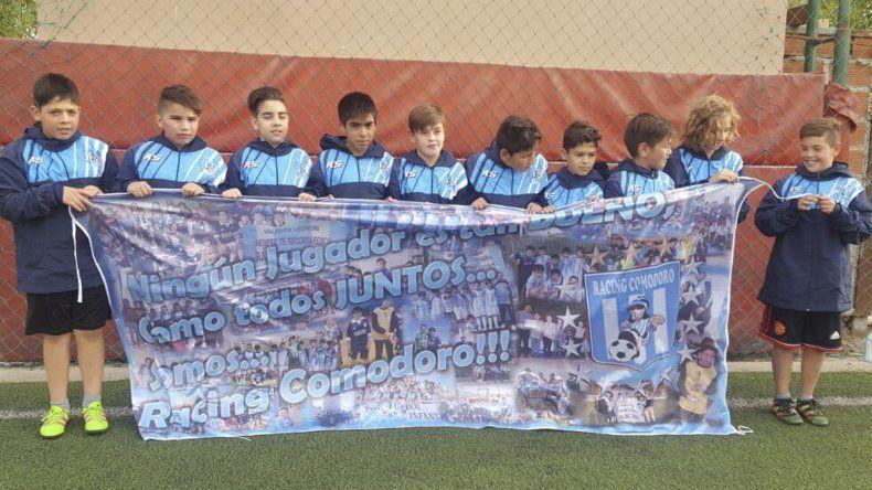 Los chicos de Racing Comodoro inician una etapa para el recuerdo en Chile.