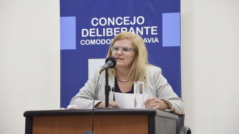 Norma Contreras (Chubut Somos Todos).