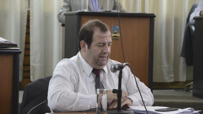Pablo Martínez (Cambiemos).