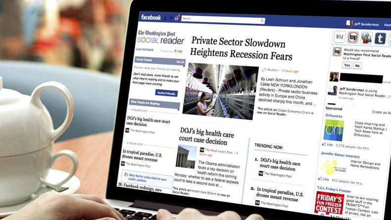 Facebook lanzó en la Argentina una iniciativa para luchar contra las noticias falsas